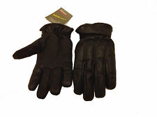 Black Genuine High Quality Leather Sand & Kevlar Gloves – *** Extra Large***