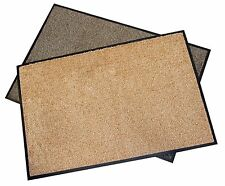 Microfibre Dirt-Trapper Mat Super Absorbent Doormat Washable Entrance Matting