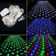New 1.5M 100 LED Net Fairy Light Christmas Wedding Party Decoration String Light