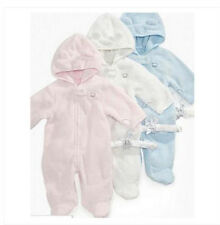 * NWT NEW BOYS GIRLS FIRST IMPRESSIONS LIGHT SNOWSUIT SNOW SUIT 0/3M 3/6M 6/9M