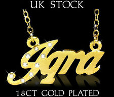 Arabic Name Necklace IQRA 18ct Gold Plated Personalised Fashion Jewelery Gifts