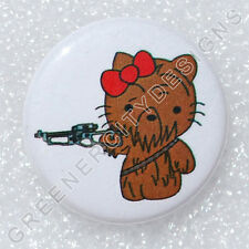 H3 - Chewbacca - Hello Kitty - Star Wars, Chewie Wookiee, Han Solo Co-pilot