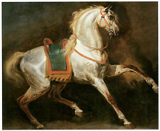 Study of a Horse, c. 1817, Emile-Jean-Horace Vernet- Horse Art on Canvas