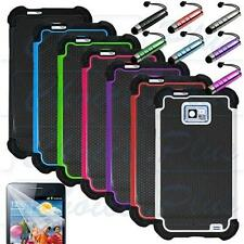 Rugged Dual Layer Hybrid Hard Case Cover for Samsung Galaxy S2 II i9100 Phone
