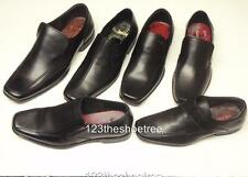 Ikon Formal Shoes Slip On, Lace or Velcro Styles Black Leather Fully Lined.