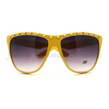 Studded Top Sunglasses Womens Oversized Butterfly Frame Fashion Shades