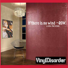 If there is Latin proverb Inspirational Vinyl Wall Decal Quotes IN033IfthereisII