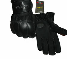 Genuine Leather Premium Quality Sand & Kevlar Gloves – Security Protection