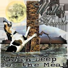 WALKER HOUND GO'IN DEEP FOR THE MEAT COON HUNTING SHIRT #526-S