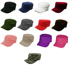 Army Patrol Pocket Cadet Hat Cap GI Style Hats Caps Multiple Colors Available