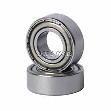 New 2Pcs Double Shielded Deep Groove Ball Bearing / Many Size Available