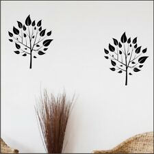 LEAFY TREE bird large flower branch wall art stickers vinyl decals transfer