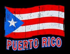 COMMONWEALTH OF PUERTO RICO PATRIOTIC PUERTO RICAN FLAG T-SHIRT XT92