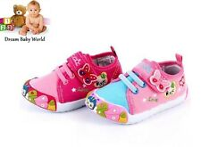 Canvas girls shoes in 2 colours! Size UK 3 - 7 NEW