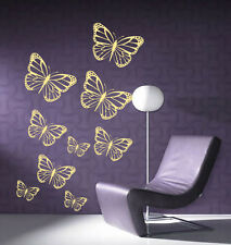 Group Butterfly Giant Wall Art, Bedroom, Living Room, Vinyl Sticker,WA024