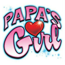 PAPA'S GIRL Cute! Youth Kids T-Shirt Jerzees 6 Months To 18-20=XL THE BEST