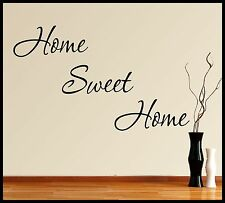 FAMILY WALL ART VINYL STICKER QUOTE HOME SWEET HOME DECOR GRAPHIC DECALS MURAL