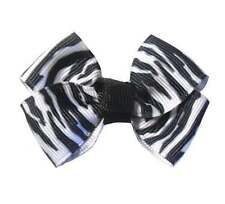 Animal Prints Tiny Tot Infant Hair Bows (12 Designs Available)
