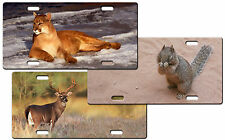 CUSTOM PERSONALIZED METAL LICENSE PLATE - OTHER ANIMALS - ADD ANY TEXT FREE