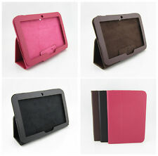 Stand New Leather Cover Case & Screen protector For Lenovo IdeaTab Tablet A2109