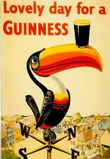 Vintage Guinness Advertising Poster A3 / A2  Reprint