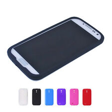 1/6 Colors Soft Silicone Cover Shell Case Skin For Samsung Galaxy S4 SIV i9500