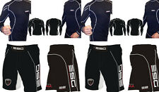 ESG Xtreme Performance Compression Rash Guard Base Layer and MMA Fight Shorts