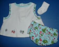 Girls 3pc Spring Summer Outfits 0-3M 0-6M 6-9M 12M 24M