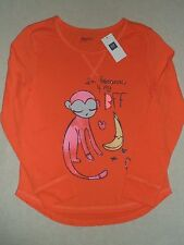 GAP KIDS Orange I'm Bananas 4 for My BFF Graphic T Shirt Top NWT