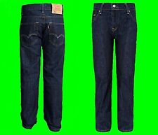 NEW Boys LEVI'S 501 Original Denim Jeans Indigo Kids Straight Leg Age Size 4-16