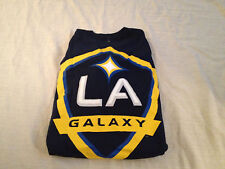 adidas Men's LOS ANGELES GALAXY OFFICIALLY Navy Colored LOGO LICENSED MLS SHIRT