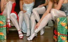 Peavey Gloss shiny Tights Hosiery Pick Sz Color 13% Spandex fo halloween costume