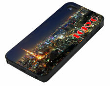 Tokyo city sky line night iPhone 4 4S 4G Cover Vintage Phone Case hard