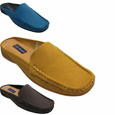 Ladies Womens Slip On Moccasin Flat Deck Boat Loafers Shoes Mules UK 3 4 5 6 7 8