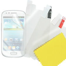 LOT Glitter Anti-glare Clear Screen Protector for Samsung Galaxy S3 mini i8190