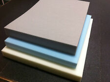 Upholstery foam Sheets. Select grade & size & depth. High, Medium & low density