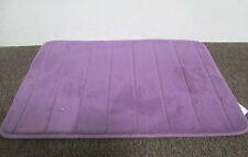 MEMORY FOAM BATHROOM BATH MAT RUG- PURPLE PLUM DARK   -  3 SIZES AVILABLE!