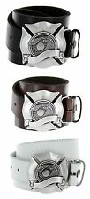 Surf Sun Made in Italy Silver Buckle with Genuine Leather Casual Belt Strap