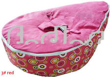 Lovely Nice baby kid toddler bean bag & Seat Cover parents care Red big circle