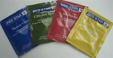RED STAR WINE YEAST Wine Making Yeast 6 PACKAGES