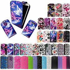 For Samsung Galaxy S3  i9300 Stylish Printed Leather Flip Case Cover+Free Guard