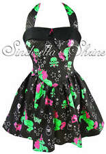 HELL BUNNY Black ~I HeaRT ZoMBie~ Halloween Unicorn Party Dress 6-26 XS-4XL