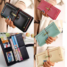 new hot fashion design lady women purse long clutch wallet PU high quality bag