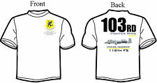 103rd 118th FS A-10 Thunderbolt Squadron T-Shirt