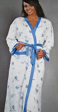 LA MARQUISE PLUS SIZE SUMMER LIGHTWEIGHT DRESSING GOWN ROBE WRAP