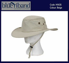 NEW MENS LADIES TILLEY STYLE SUN HAT BEIGE GREEN SIZE S M L XL SUN PROTECTION