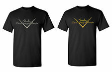 FENDER CUSTOM SHOP TEE SHIRT, 2 COLORS - ALL SIZES AVAILABLE!