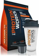 1KG WHEY PROTEIN MUSCLE MASS SHAKE from THE PROTEIN WORKS™. FREE SHAKER + SCOOP!