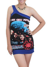 Red Hot Chili Peppers Metal Rock DIY Sexy Asymmetric One Shoulder Tank Top Shirt
