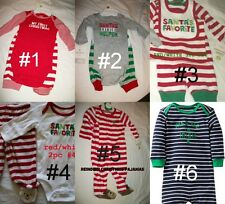 * NEW BOYS CARTERS Holiday Irish CHRISTMAS SANTA OUTFIT SET NB 3M 6M 9M 12M